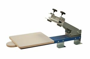 One Color Table Top Screen Printing Press