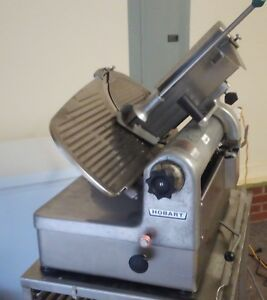 Hobart 1712 Automatic 2 Speed Meat Cheese Deli Slicer