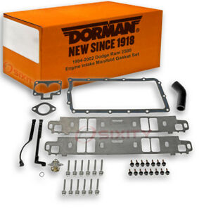 Dorman Lower And Upper Intake Manifold Gasket Set For Dodge Ram 2500 En
