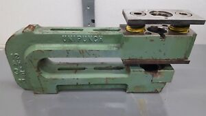 12 Ah 3 1 2 Unipunch C Frame Punch Press Tooling 12 Throat Used