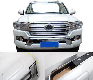 Car Front Bumper Protector Skid Guard Fit For Toyota Land Cruiser Lc200 16 18