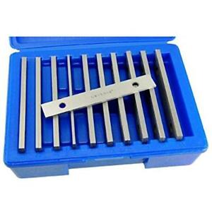 Machinist s Thin Parallel Bar Set 10 Pair 1 8 X 6 Blocks Workholding Tooling