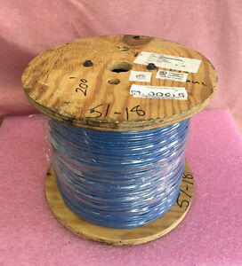 14awg Stranded 41 30 Blue 600 Volts Type Ul1015 2000 Feet