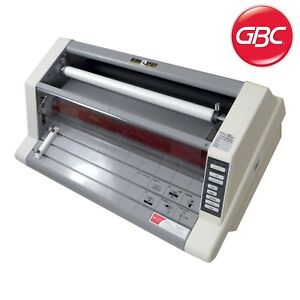 Laminator Heatseal Ultima 65 27 Wide By Gbc With 4 New Rolls Of Plastic Film