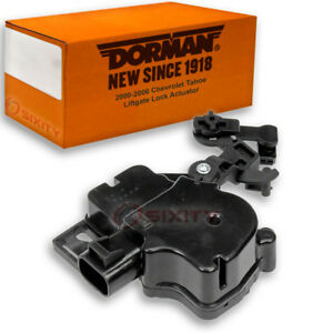 Dorman Liftgate Lock Actuator For Chevy Tahoe 2000 2006 Tailgate Td