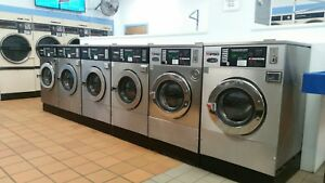 7 Ipso Double Load Coin Op Commercial Laundromat Washers