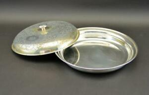 Mappin Sterling Silver Serving Dish W Cover 1160 Grams