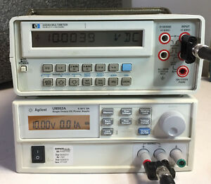 Hp Agilent 3468a 5 5 Digit Lcd Digital Dmm Multimeter self Test Ok