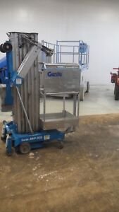 2001 Genie Awp 30s 30 Electric Mast Lift Portable Manlift