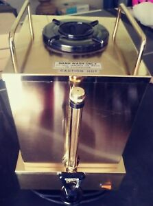 Coffee Dispenser W Warmer Table Top Buffet Catering Urn New Gold 2 Gallon