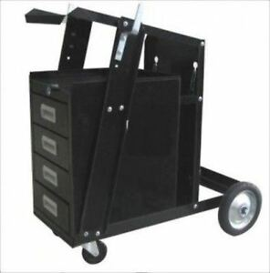 Mobile Arc Welder Tank Cart Tool Box