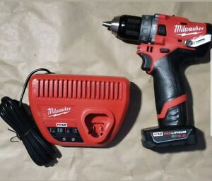 Milwaukee Gen Ii 2504 20 M12 Fuel 12 volt Brushless 1 2 In Hammer Drill battery