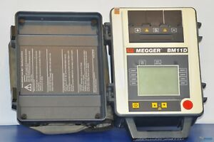 Avo Megger Bm11d 5kv Insulation Tester Nist Calibrated With Warranty