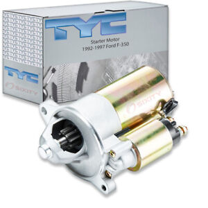 Tyc Starter Motor For 1992 1997 Ford F 350 7 5l V8 Cw