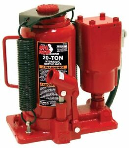 Torin Big Red Air Hydraulic Bottle Jack 20 Ton Capacity New