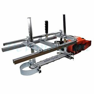 Holzfforma Portable Chainsaw Mill Planking Milling From 14 To 36 Guide Bar