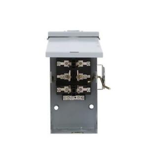 Manual Transfer Switch 100 amp 240v Non fused Emergency Power Transfer Switch