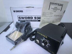 Sword 936a Soldering Station 220v unused cn 5715