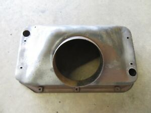 1955 Buick Special Firewall Fresh Air Heater Vent Duct Housing Piece Hot Rod