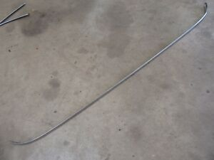 1959 Chevrolet Belair Sedan Wagon Top Front Windshield Trim Molding Hot Rod Part