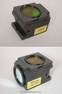 Nikon C23205 Special Yel Gfp Fluorescence Filter Cube For Eclipse Microscopes