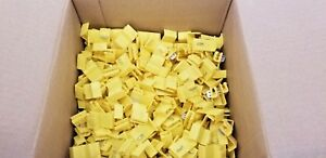 3m Scotchlok 903 Yellow Self stripping Electrical Tap Connectors 1000 pc 06123