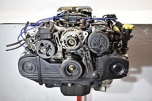 1991 Subaru Legacy Engine Longblock Assembly 91