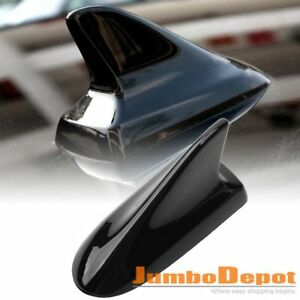 Black Car Shark Fin Style Dummy Roof Antenna Top Decor For Toyota Corolla