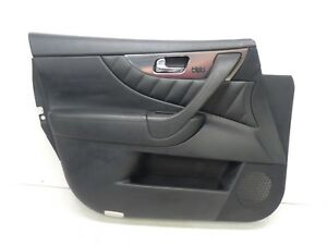 09 14 Infiniti Fx35 Fx37 Fx50 Front Left Driver Side Door Panel Oem
