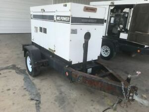 Used Multiquip Dca25ssiu Generator Set