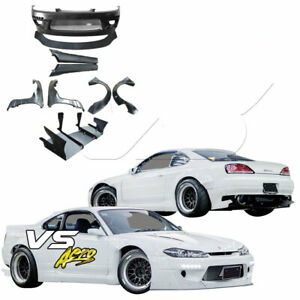 Vsaero Frp Tkyo Bunny Wide Body Kit For Nissan Silvia S15 99 02