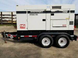 Used Multiquip Dca150usj2 Generator Set