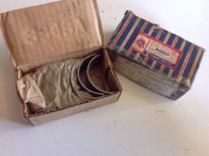 Nos Std Rod Bearing Set Mga 1500 1600 1622 Early Mgb 62 65
