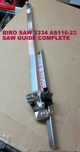 Biro Saw Model 3334 Complete Guide Bar Assembly A116 22