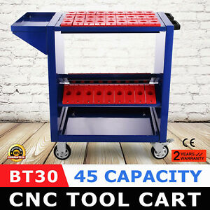 Bt30 Cnc Tool Trolley Cart Holders Toolscoot Steel Mill Rolling Super Scoot