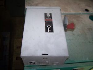 General Electric Ge Tgn3322r 60a 240v Disconnect Safety Switch