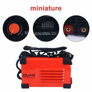 Red Handheld Mini Mma Electric Welder 220v 20 250a Inverter Arc Welding Machine