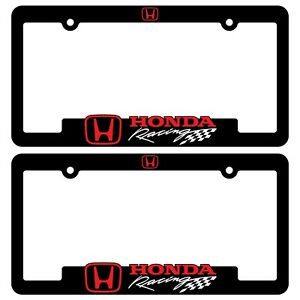 Honda Racing License Plate Frames Civic Typerr Accord Cr V Hr V Ridgeline Bracke