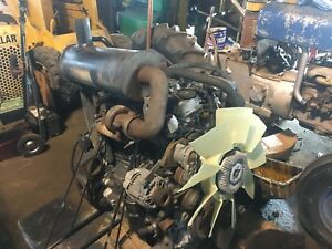 2008 Case Cummins Iveco 4 cylinder Turbo Diesel Engine 580 590 Super M Backhoe