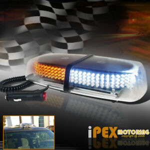 240 yellow white Led Light 8 Modes Emergency Roof Top Warning Flash Strobe Lamp