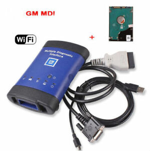 Gm Mdi Multiple Diagnostic Interface Tool Wifi New Scanner Ecu With Hdd Software