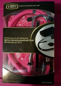 Prestige Medical Bp Cuff Sprague Stethoscope Kit A2 Aneroid Sphygmomanometer
