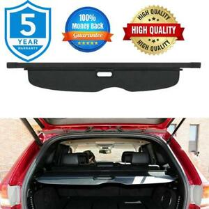 Rear Trunk Cargo Cover Security Shield Black For Jeep Grand Cherokee 2011 2016