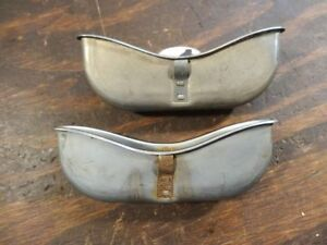 Pair 1933 34 Buick Ashtrays Chevy Olds O806