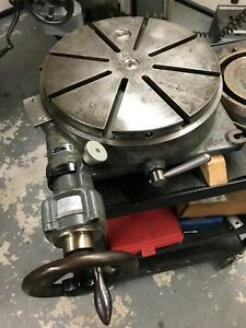 Sip Pd 3 Swiss 13 7 Precision Rotary Table Jig Bore Mill Grinder Bridgeport