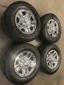 4 Dodge 2015 Ram 2500 Oem 18 Inch Wheel Rim Caps Steel Chrome Wheels Rims