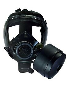 Msa Millennium Gas Mask Respirator W Drink Tube Cbrn 40mm Nato Large New