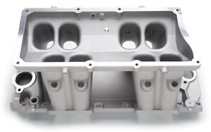 Edelbrock 70855 Victor Series Tunnel Ram Manifold Base