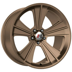 4 New 20 Inch Hurst Ht327 Missile 20x9 5x115 13mm Bronze Wheels Rims