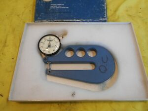 Ames Usa 0 1 2 001 Dial Thickness Gage Caliper Indicator Inspection Tool